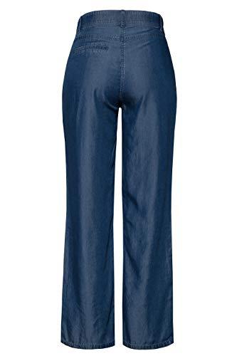Popken Zip Grandes Bouton Femme Mary Lyocell Ulla Denim 720739 Pantalon Bleu Marlène Tailles fqRxwwWdO