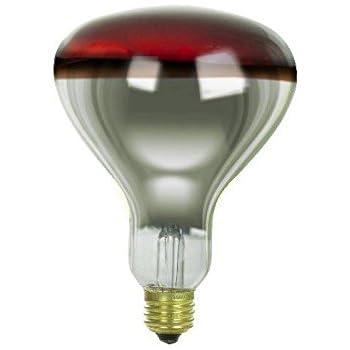 Sylvania 14663 250r40 10 120v Heat Lamp Light Bulb Incandescent Bulbs Amazon Com