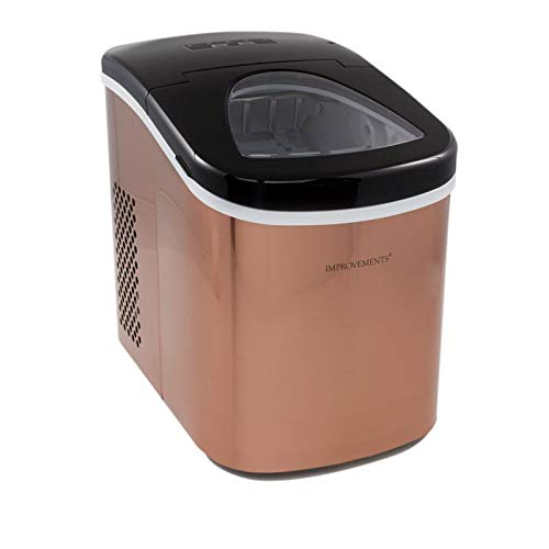 Improvements Compact Stainless Steel Ice Maker - Copper