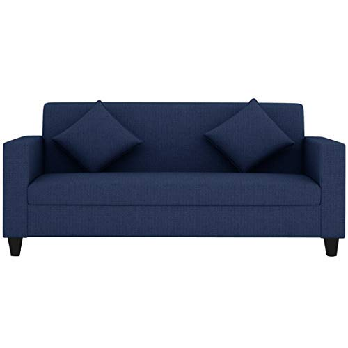 CasaStyle – Diana 3 Seater Sofa (Blue) | Best for Living Rooms, Offices