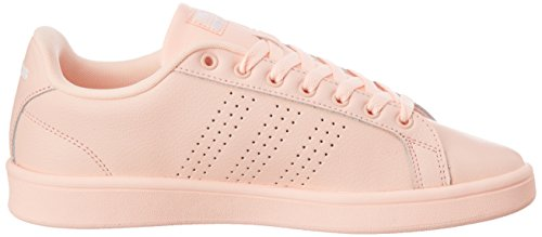 Rose Sneakers Cloudfoam Basses Adidas Femme Advantage axPppq