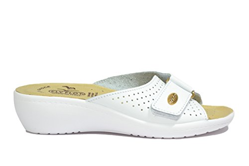 Fly Flot Ciabatte donna bianco anatomiche anti-shock 90F23198BE