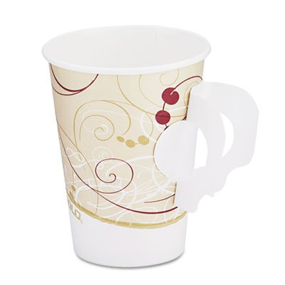 Cup Symphony Paper Hot (Solo 378HSM-J8000 8 oz Symphony SSP Paper Hot Cup (Case of 1000))