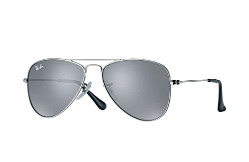 Ray-Ban Unisex Silver Aviator Sunglasses