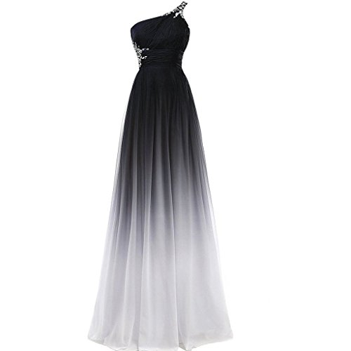 long black and white prom dresses - 3