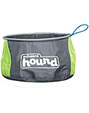 Outward Hound Port-A-Bowl Collapsible Dog Travel Bowl for Food and Water