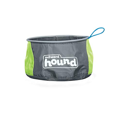Outward Hound 48 oz Port A Bowl Portable Dog Dish