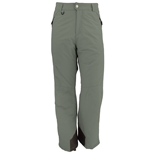 White Sierra Toboggan Insulated Pants with Extended Sizes, Caviar, 2X