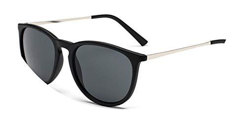 Retro Male Round Sunglasses Women Men Designer Sun Glasses for Women Alloy Mirror Sunglasses,NO.4 ()
