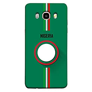 ColorKing Samsung J5 2016 Football Green Case shell cover - Fifa Nigeria 01