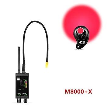 EPTEK@Detector de Sensor de imán Oculto + 1 MHz-12 GHz Detectores de señal espía inalámbricos Detector de Errores RF Detector de Lentes Buscador de ...