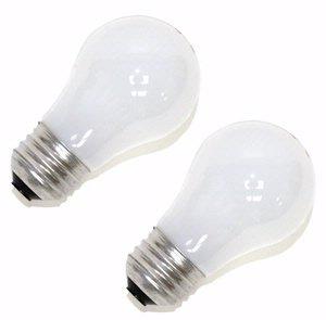 Sylvania 11664 - 40A15/DL/SW/BL/2 A15 Light Bulb ()