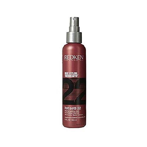 (Redken Hot 22 Thermal Setting Mist Sets 5.0 oz. (pack of 1))