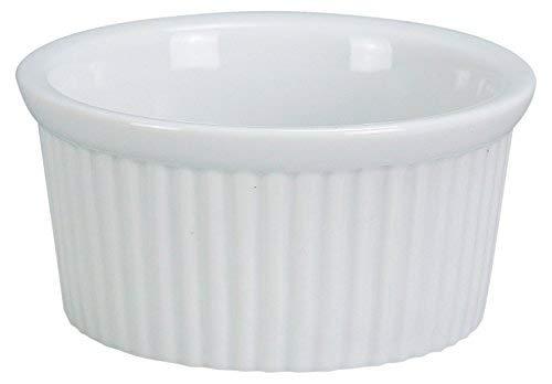 Yanco RK-102 Ramekin 1.25 Fluted 2 oz Fluted Capacity 2.75 48 Diameter 1.25 Height Porcelain Super White Color Pack of 48 [並行輸入品] B07N8613JY, ミタケムラ:f5f34be2 --- gallery-rugdoll.com