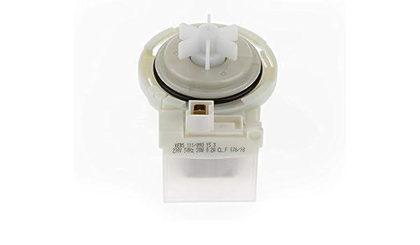 ALL4SALE - Motor bomba desagüe para lavadora – KEBS111/093: Amazon ...