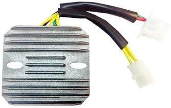 Voltage Regulator compatible with Honda CMX 250 2001 02 03 04 05 06 07 08 09 12 13 14 15 16 replaces OEM SH535C-13 31600-KEN-A51# DZE 2524