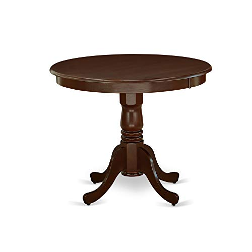 - East West Furniture ANT-MAH-TP Antique Dining Table, 36