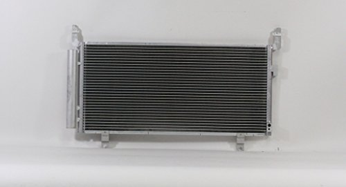 A-C Condenser - Pacific Best Inc For/Fit 4302 14-16 Subaru Forester w/ Receiver & Dryer Parallel Flow Construction