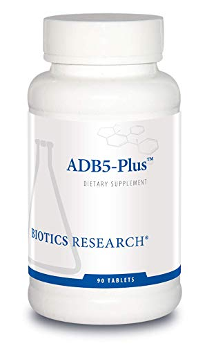 ADB5-PlusTM Adrenal Support Supplement - by Biotics Research 90 Tablets