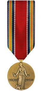 Medals of America World War II Victory Medal Miniature Bronze