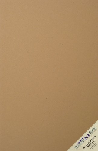 "25 Brown Kraft Fiber 80# Cover Paper Sheets - 11"" X 17"" (11X17 Inches) Tabloid