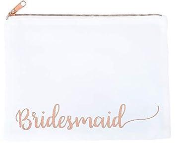 bridesmaid makeup bag bridesmaid gifts bridesmaid bag bridal shower gift bridal party