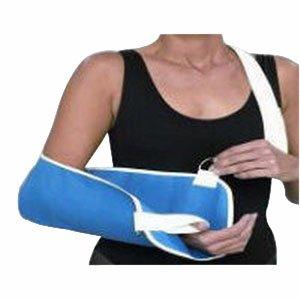Denim Arm Sling w/Thumb Loop, Lrg, (19