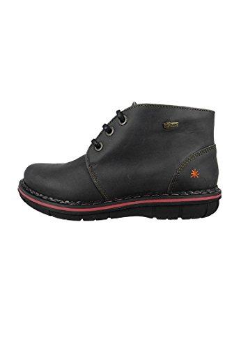 Zapatos de las Mujeres Tipo Oxford Negro Negro Assen 0457, ART Schuhe Damen:40