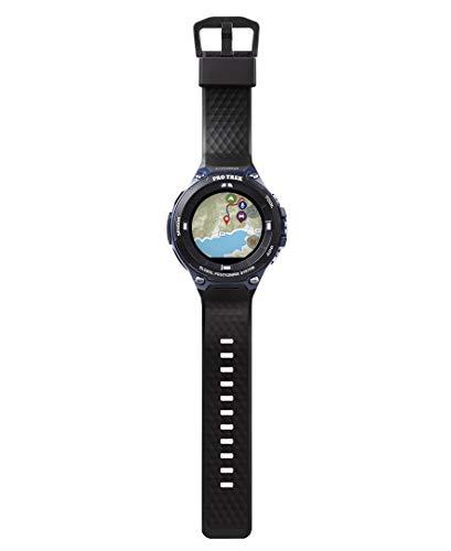 Casio Men's viewranger PRO Trek Smart Quartz Sport Watch with Resin Strap, Black, 25.2 (Model: WSD-F20A-BVR) ()