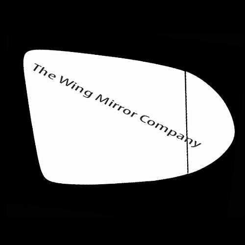 VUXHL-Zafira 1994 to 2004 Silver Aspheric Door//Wing Mirror Glass RH Driver Side