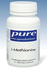 Encapsulations-L-Méthionine 375 mg pures 60 Vcaps