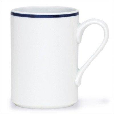 Bistro Christianshavn Blue 9 oz. Mug [Set of 4]