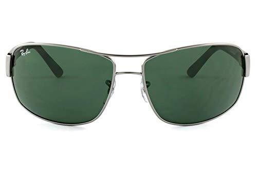 Óculos de Sol Ray Ban Rb3503l 029-71/64 Grafite - Lente Verde