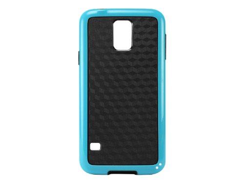 Cellet 3D Cube Hybrid Flexi Case for Samsung Galaxy S5 - Blue