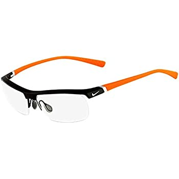 60b7196c7bf Amazon.com  Nike Eyeglasses 6037 045 Steel Demo 53 17 135  Health ...