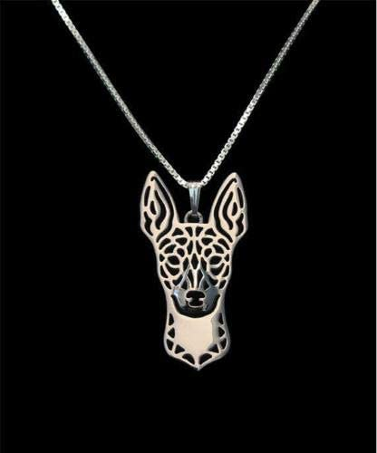 Amazon.com: Rat Terrier Silver Charm Pendant Necklace, Dog Lover, Friend Gift