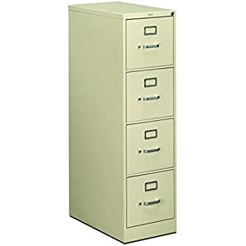 file cabinet. Perfect Cabinet HON 4Drawer Filing Cabinet  510 Series FullSuspension Letter File  And