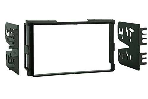 - Metra 95-7313 Double DIN Installation Kit for Select 2001-2006 Hyundai Vehicles (Black)
