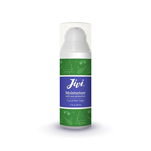 Face Moisturizer with SPF 12 Sun Protection (Cucumber Sage) | Reduces Redness and Prevents Sun Damage | 100% Natural with Organic Ingredients | Made for Sensitive and Oily Skin | 1.7 fl. oz. (Best Natural Moisturizer With Spf For Oily Skin)