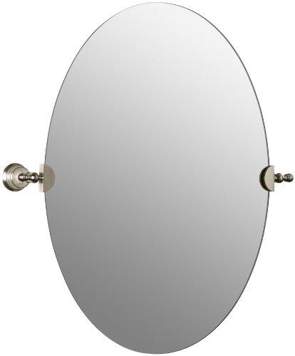 Bronze Mirror Kohler - KOHLER K-16145-BV Revival Mirror, Vibrant Brushed Bronze