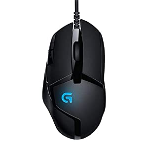 Logitech G402 Hyperion Fury Wired Gaming Mouse, 4,000 DPI, Lightweight, 8 Programmable Buttons, DPI Switch Button…