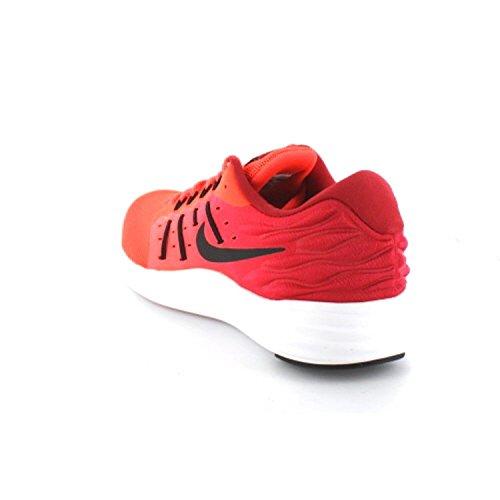 Nike LUNARSTELOS - Runningschuhe für herren, Rot (total crimson/black-gym red-white), 40.5
