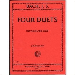 Bach, J.S. - 4 Duets BWV 802 805 for Violin and Cello - Arranged by Stutschewsky - International