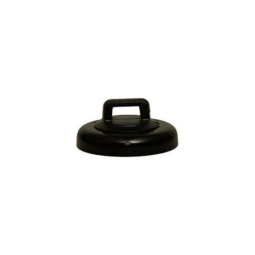 GadKo Large Black Magnetic Zip Tie Mount, 10 lbs pull strength, 10 pieces/bag by GadKo