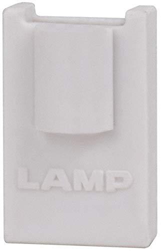 (99 Lb Capacity, Gray, Shelf Support Cap Bracket pack of 200)