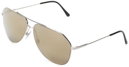 D&G Dolce & Gabbana DG2129 05/6G 62 Square Sunglasses,Silver,62 mm