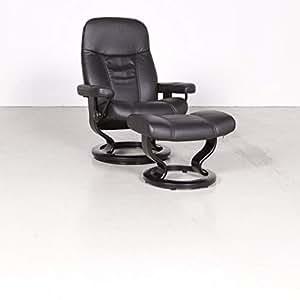 Stressless Consul M Designer Leder Sessel mit Hocker ...