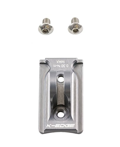 K-Edge NiteRider Light Adapter Gunmetal, One ()