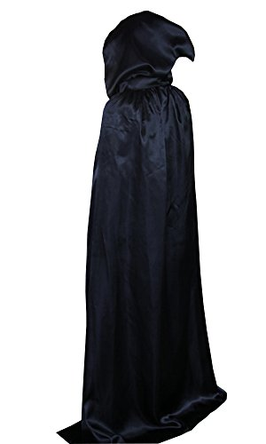 LifeWheel Halloween Grim Reaper Cloak Cosplay Costumes Hooded