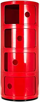 colore Comodino con 2 3 4 5 cassetti Bianco 2 Tier Costello/®